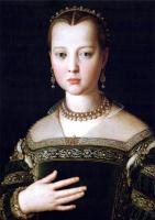 Аньоло Бронзино. Портрет Марии Медичи