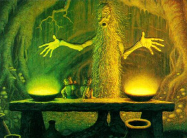 Тим Хильдебрандт. На столе волшебника