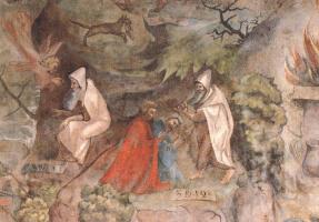 Йорг Ратгеб. Сцены из жизни пророка Илии