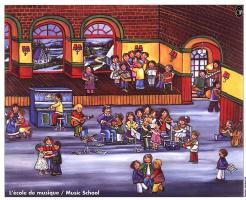 Лакорс. Музыкальная школа