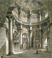 Шарль-Луи Клериссо. Интерьер храма Юпитера во дворце