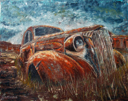 Nina Polunin. Auto Retro 2