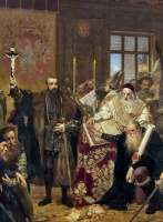 Ян Матейко. Люблинская уния. Фрагмент VI