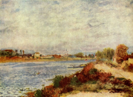 Pierre-Auguste Renoir. The Seine at Argenteuil