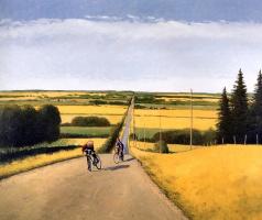 Питер Шостак. Прогулка на велосипедах