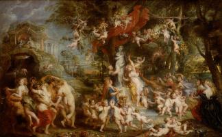 Peter Paul Rubens. The Feast Of Venus
