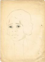 Неизвестный  художник. Портрет певицы Генриэтты Арле-Тиц