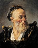 Жан Оноре Фрагонар. Голова старика
