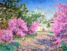 Urii Parchaikin. Цветущая вишня