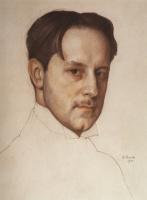 Константин Андреевич Сомов. Портрет М.В. Добужинского