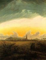 Каспар Давид Фридрих. Нойбранденбург в утреннем тумане