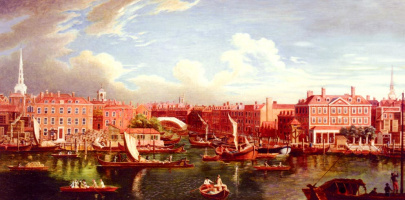Сэмюэл Вал. Вид на Темзу