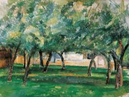 Paul Cezanne. Farm in Normandy