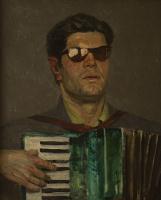 Гелий Михайлович Коржев. Слепой музыкант (эскиз)