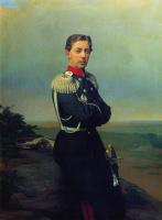 Сергей Константинович Зарянко. Портрет великого князя наследника цесаревича Николая Александровича. 1866