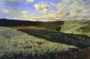 Sergey Ivanovich Svetoslavsky. Buckwheat blooms