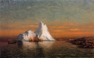 Уильям Брэдфорд. Корабли на закате