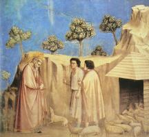 Джотто ди Бондоне. Йоахим среди пастухов