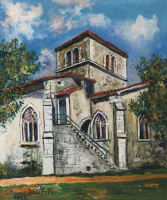Морис Утрилло. Церковь Помье