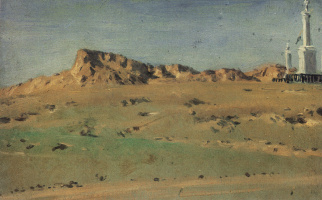 Vasily Vasilyevich Vereshchagin. Angle Turkish redoubt taken MD Skobelev August 30 but again abandoned the 31 th. Etude