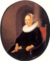 Герард Доу. Портрет женщины