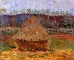 Claude Monet. Haystack at Giverny
