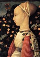 Антонио Пизанелло. Портрет принцессы Джиневры д'Эсте