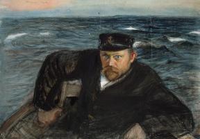 Магнус Энкель. Моряк в море