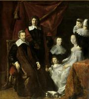 Филипп де Шампень. Семья Абера де Монмора