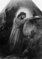 Поль Деларош. Христос на Масличной горе