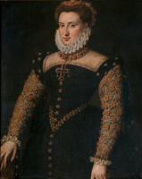 Антонис ван Дасхорст Мор. Дама с крестом