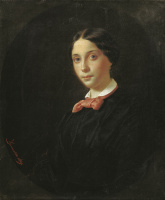 Федор Петрович Чумаков. Портрет Мазарской.1849