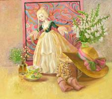 Марина Анатольевна Щекотова. Натюрморт с куклой