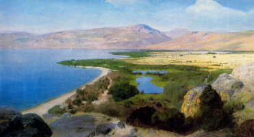 Vasily Dmitrievich Polenov. The sea of Galilee