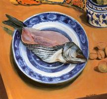 Джейн Фрейличер. Рыба на тарелке