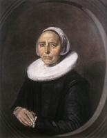 Франс Хальс. Портрет неизвестной женщины