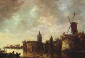 Jan van Goyen. Montfort Castle