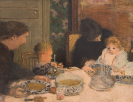 Пьер Боннар. Обед с детьми