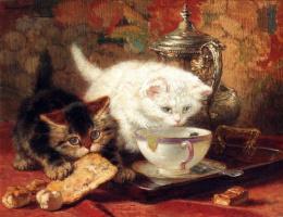 Генриетта Роннер-Книп. Котята