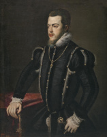 Sofonisba Angisola. King of Spain Philip II