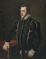 Софонисба Ангвиссола. Король Испании Филипп II