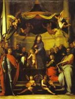 Фра Бартоломео. Ангелы и Богородица с младенцем