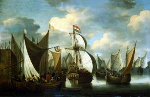 Якоб Сторк. Вид гавани