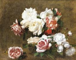 Виктория Дюбург (Фантен-Латур). Цветы