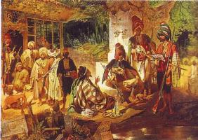 Григорий Григорьевич Гагарин. «Восточная сцена. Турецкая почетная стража»