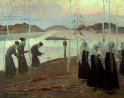 Михаил Васильевич Нестеров. Отцы-пустынники и жены непорочны