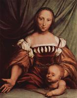 Ганс Гольбейн Младший. Венера и Амур