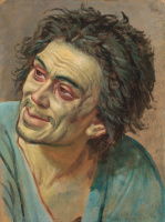 Александр Андреевич Иванов. Голова раба. 1836