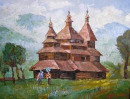 Шандор-Роберт Матяшевич Зихерман. Церква в Карпатах