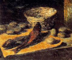 Мануэль Гиль. Натюрморт с рыбой